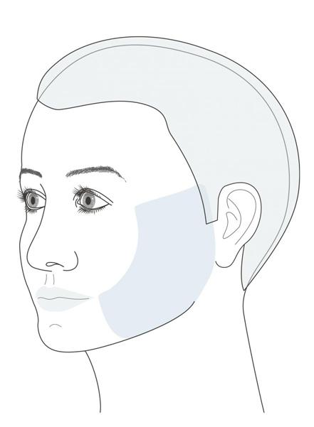 adern stirn treten hervor