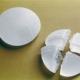 Silikonimplantate sind mit kohäsivem Gel gefüllt das ein ausrinnen verhindert.